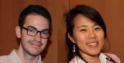 Y-Prize Consultants Gavin Kenneally and Isabelle Park