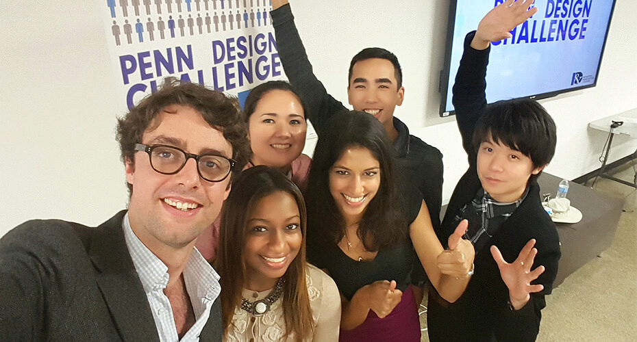 Penn Design Challenge Team photo