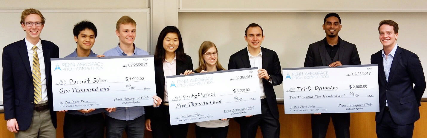 Penn Aerospace Pitch Competition Winners