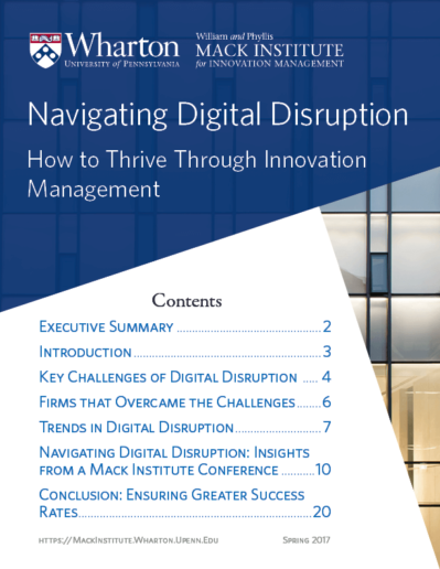 Digital Disruption White Paper