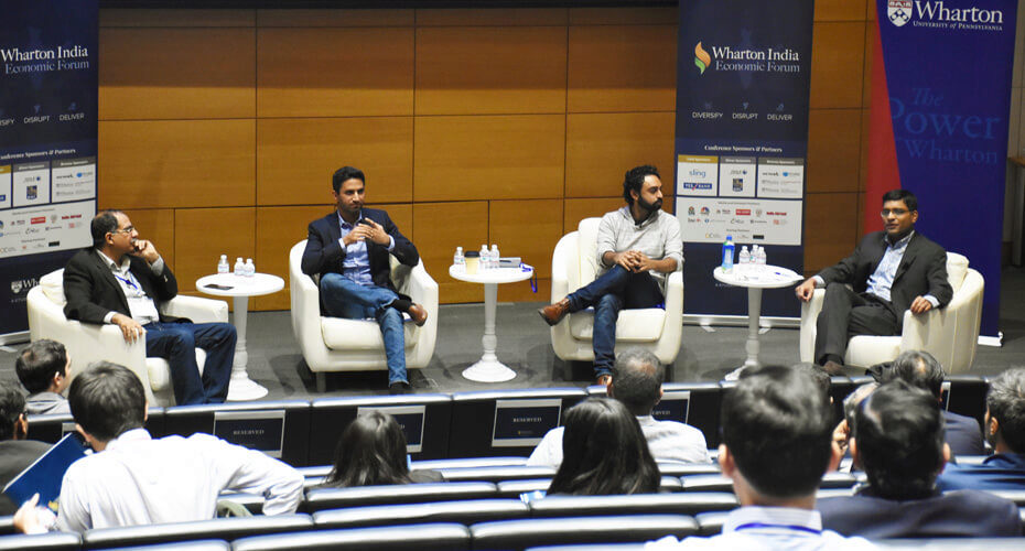 Wharton India Economic Forum Panel on Innovation