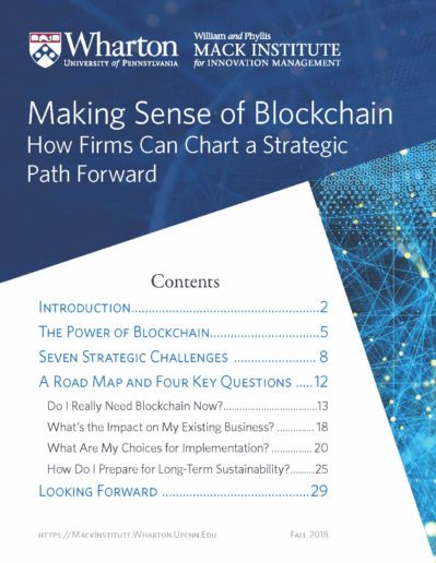 Making Sense of Blockchain Cover Page