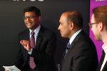 Saikat Chaudhuri moderates Davos panel