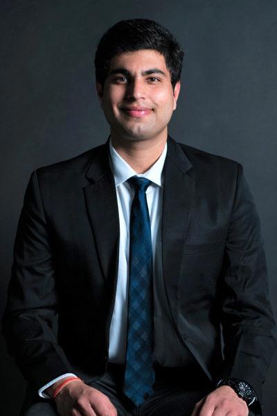 Portrait of Rahul Sharma